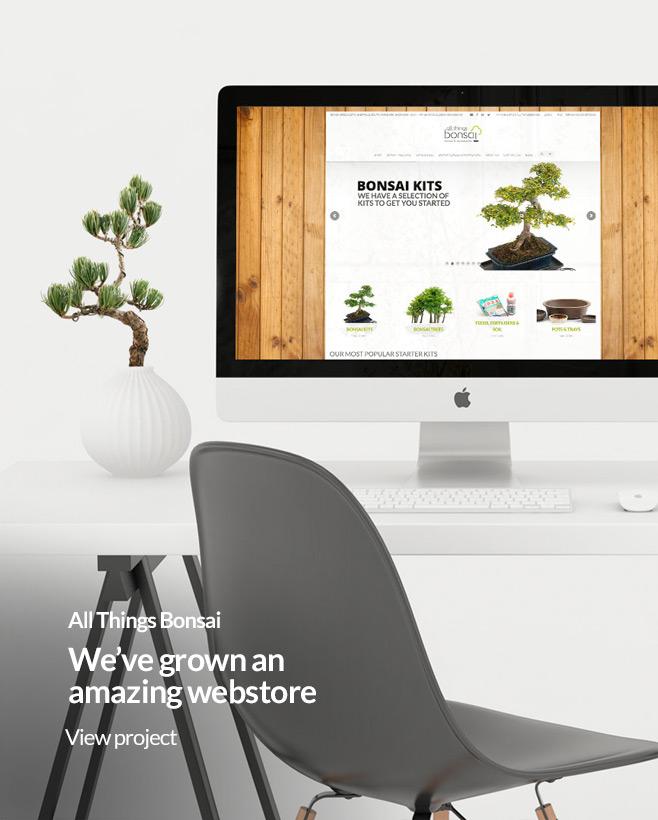idea uk design website designer sheffield all things bonsai website