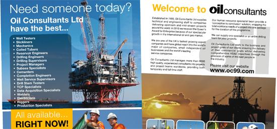 oil-consultants-press-ads - IDEA DESIGN