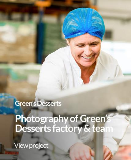 portfolio portrait greens desserts