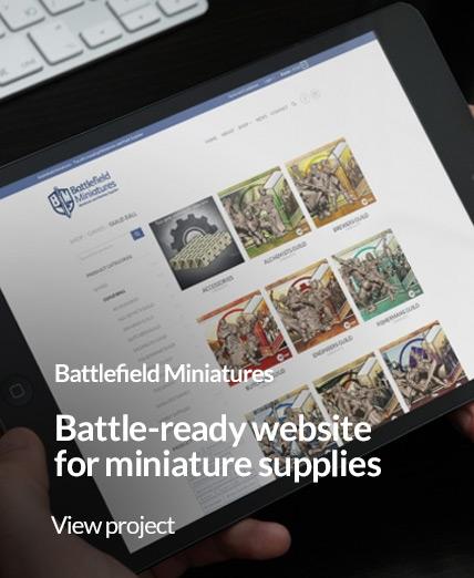 battlefield miniatures website