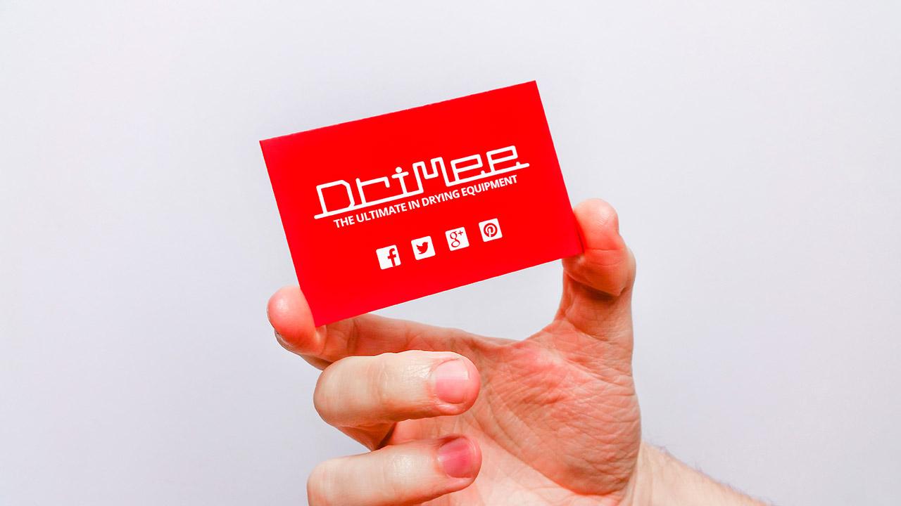 DriMee Business Card Design and Print Rotherham Sheffield IDEA UK