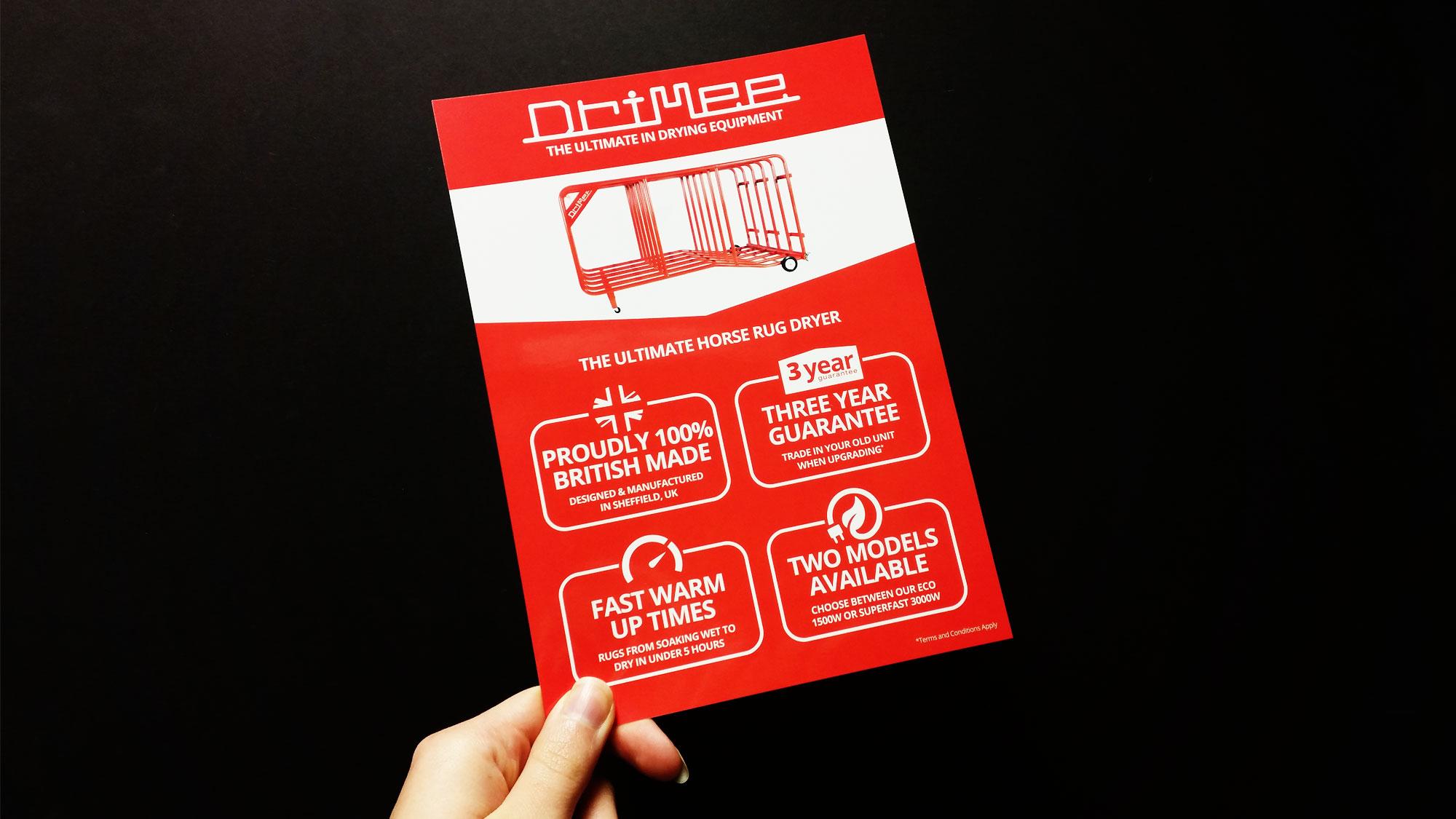 Drimee Leaflet Front