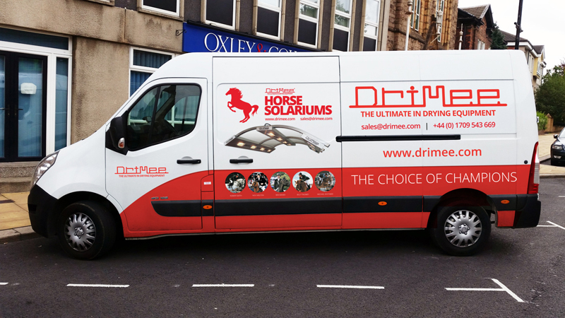 IDEA UK Design Drimee Van Sign Writing 2