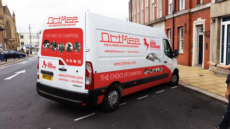 IDEA UK Design Drimee Van Sign Writing 3