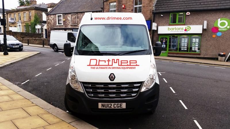 IDEA UK Design Drimee Van Sign Writing 4
