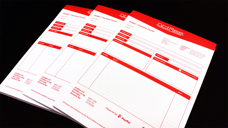 IDEA UK Design Rotherham Drimee Carbon Copy Pads 5