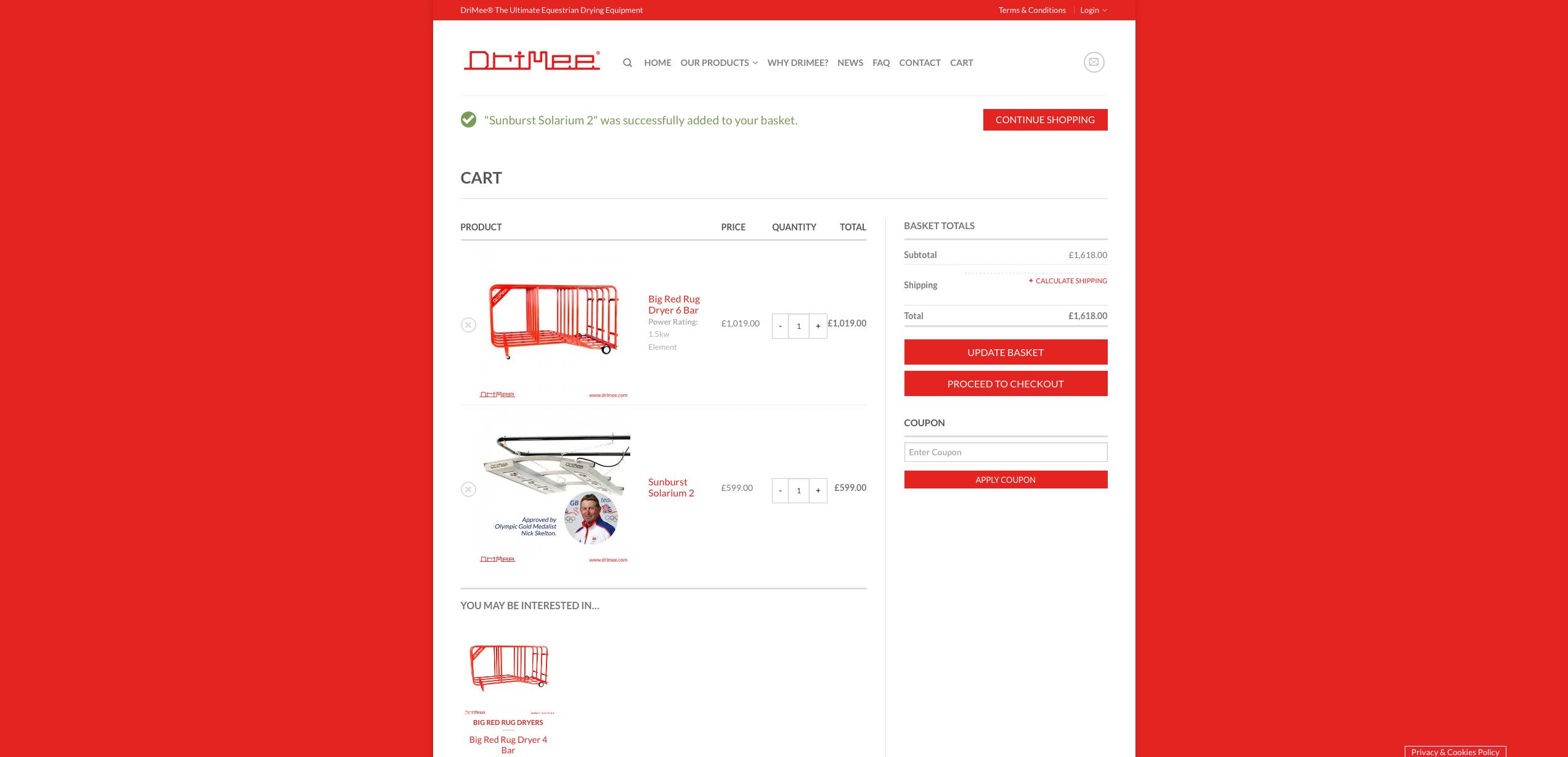 IDEA UK Design and Marketing Drimee Equestrian Horse Equipment Website Design 20
