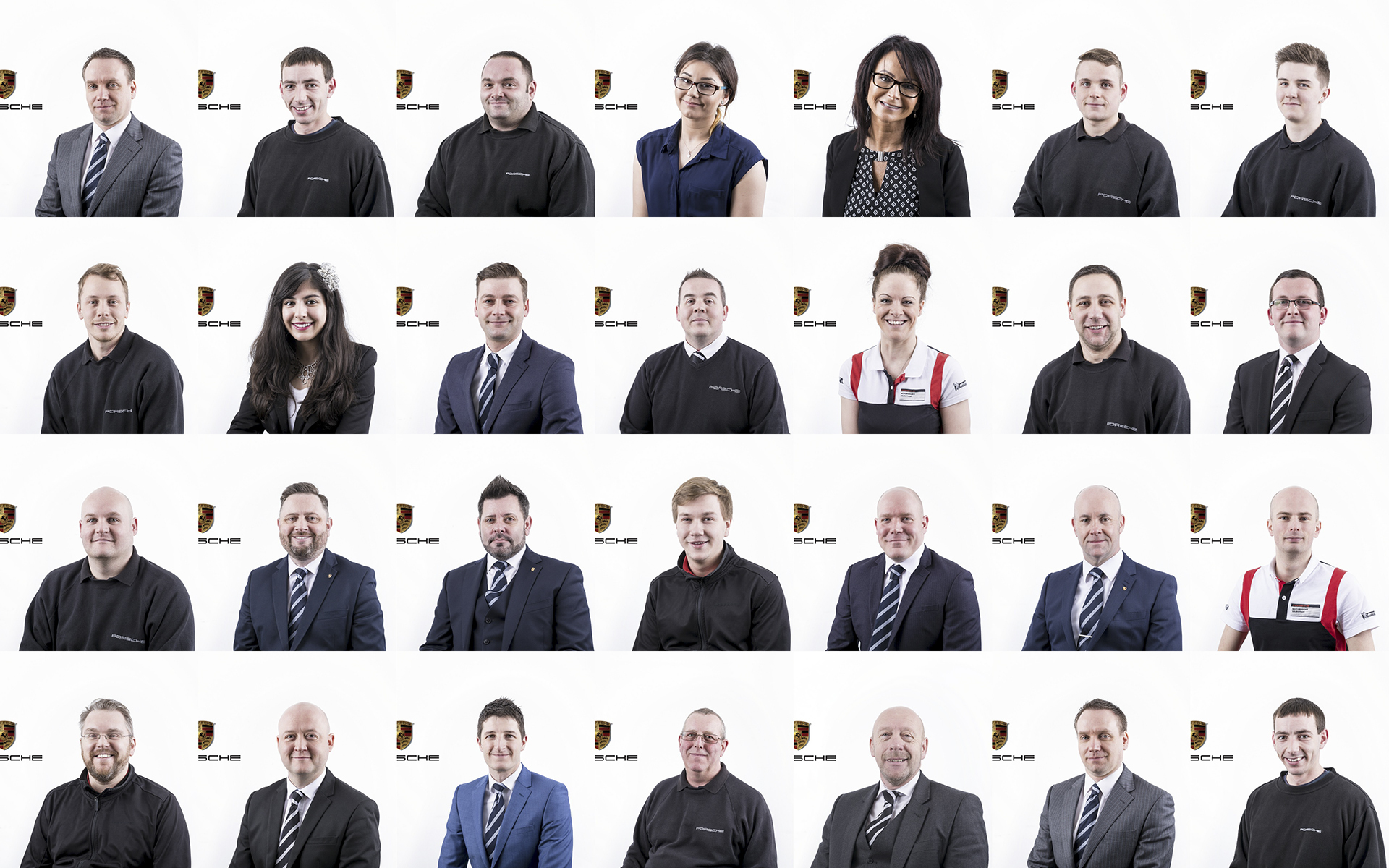 Porsche Centre Sheffield Portraits