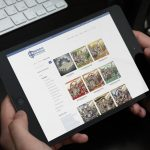 IDEA UK Website Portfilio Battlefield Miniatures Ipad
