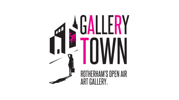 IDEA UK Design Gallert Town Rotherham Logo Design Rebranding