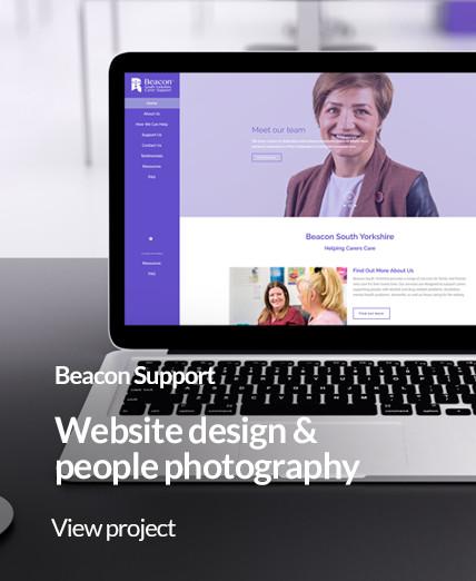 Portfolio image beacon support