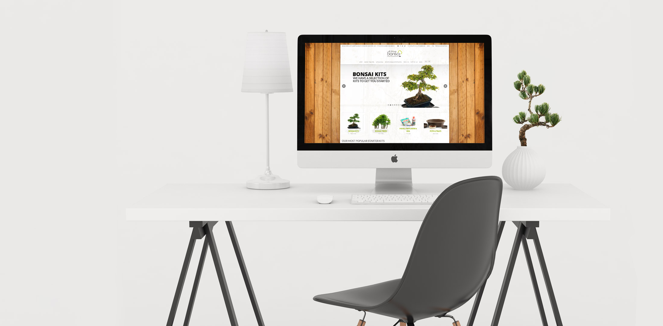 imac all things bonsai mockup