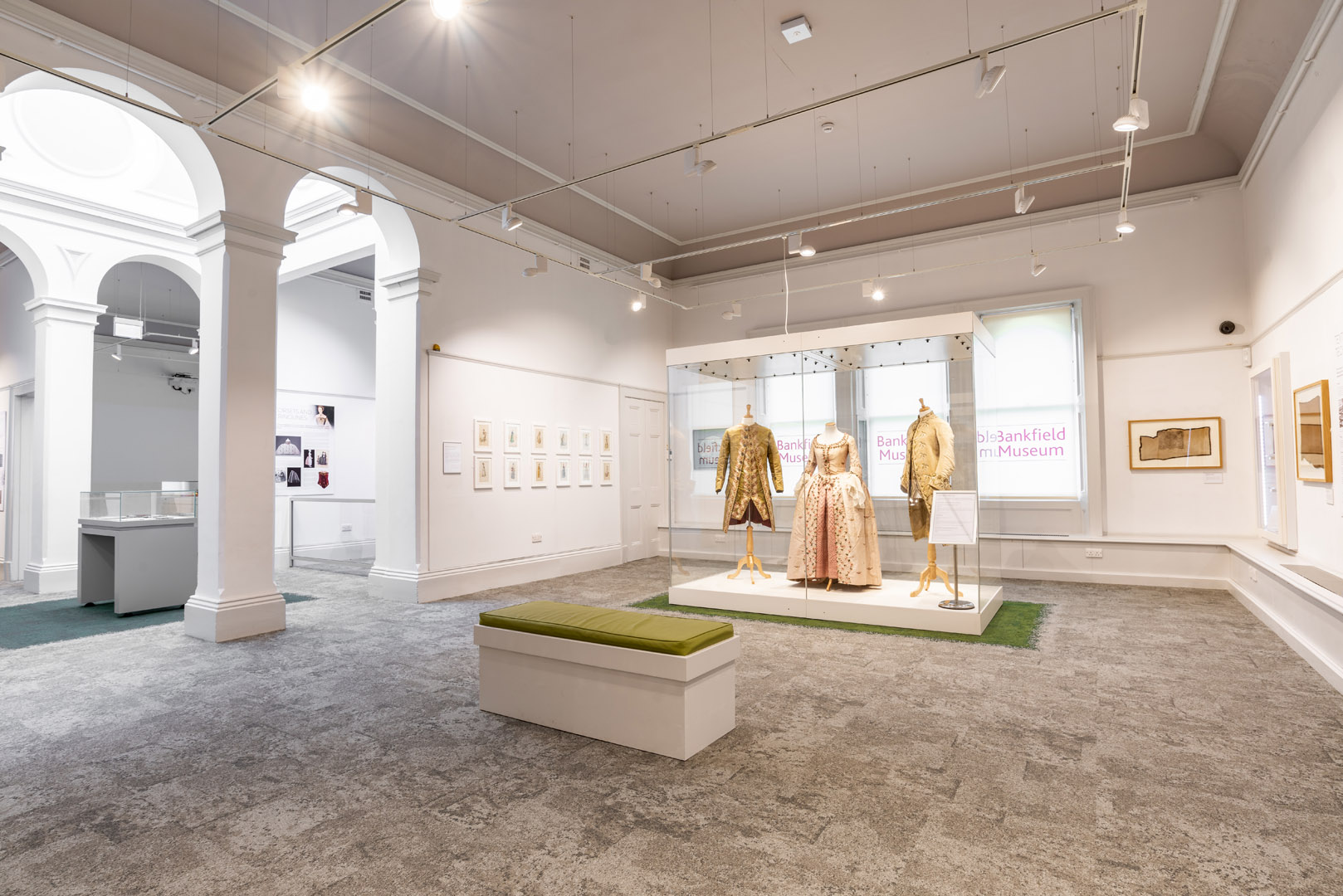 The Fashion Gallery Professional Photography and Video Production Bankfield Museum Halifax Calderdale Council IDEA Design Rotherham Sheffield