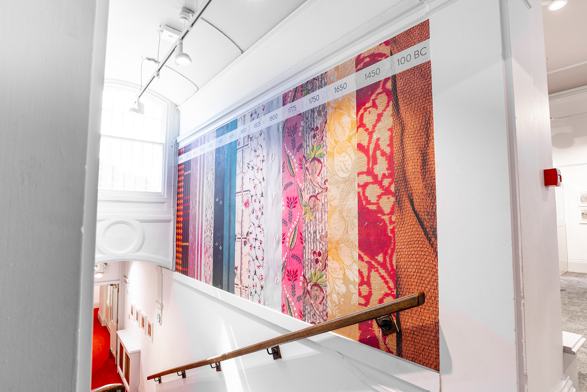 The Fashion Gallery Wall Vinyl Graphics Bankfield Museum Halifax Calderdale Council IDEA Design Rotherham Sheffield