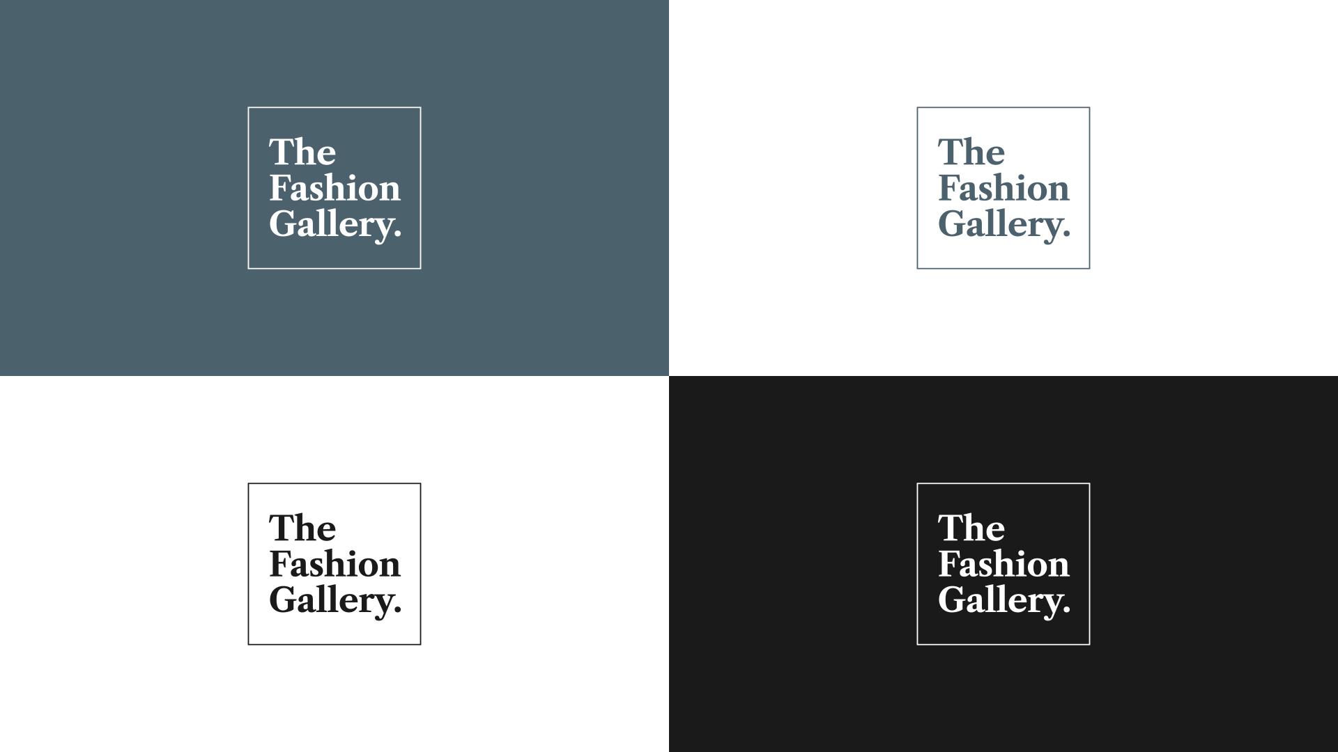 The Fashion Gallery Logos Design Bankfield Museum Halifax Calderdale Council IDEA Design Rotherham Sheffield